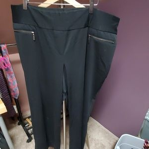 Lane Bryant black trouser pant